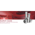 """DuraVent - DuraTech® CanadaHigh Temperature, 1"""" Double-Wall, All Fuel Chimney System"""