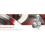 DuraVent - DuraChimney® II Air-Cooled Chimney System For Masonry Fireplaces.