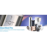 DuraVent - DirectVent® Pro - Unitized, Coaxial (concentric) Venting System