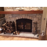 Acucraft Fireplace Systems - The Hearthroom 36 Zero Clearance Wood-Burning Fireplace