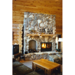 Acucraft Fireplace Systems - The Chalet Series Wood-Burning Fireplace