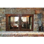Acucraft Fireplace Systems - Unity Clean Face See-Through Wood-Burning Fireplace