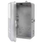 Intermatic Inc. - 2T2926A Case-Outdoor, Type 3R Plastic, Gray with See-Through Window