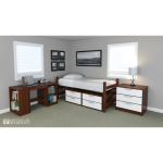 New England Woodcraft Inc. - Newbury Series - Supportive Housing Furniture
