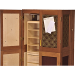 New England Woodcraft Inc. - Collapsible Wardrobe
