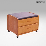 New England Woodcraft Inc. - Mobile Ottoman