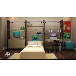 Get Back, Inc. - Dept 87 Custom Wall Storage System - Bedroom