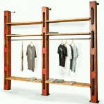 Get Back, Inc. - Dept 87 Custom Wall Shelving System - Retail Display