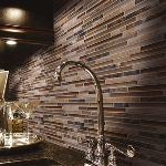 Florim USA - ICED ROCKS Glass and Porcelain Composite Wall and Countertop Tile