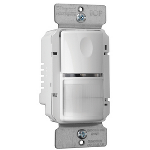 Pass & Seymour - PlugTail® Commercial Passive Infrared (PIR) Wall Switch Sensor, White - PTWSP250W
