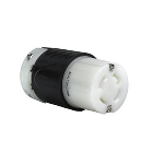 Pass & Seymour - Heavy-Duty Ground Continuity Monitoring (GCM) Connector, Black & White - L1430CGCM
