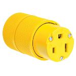 Pass & Seymour - Gator Grip Connector, Yellow - D0553