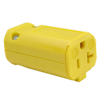 Pass & Seymour - MaxGrip M3 Connector, Yellow - PS5369Y