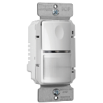 Pass & Seymour - PTWSP250W - PlugTail® Commercial Passive Infrared (PIR) Wall Switch Sensor, White