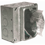 Pass & Seymour - MBD4S1PTSTR - PlugTail® Power Pre-Fabricated Wiring System, Metal-Box Kit with Stranded Copper Pigta