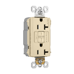 Pass & Seymour - PT2097TRNAI - PlugTail® NAFTA-Compliant Spec-Grade Tamper-Resistant 20A Self-Test Duplex GFCI