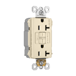 Pass & Seymour - PT2097TRNALA - PlugTail® NAFTA-Compliant Spec-Grade Tamper-Resistant 20A Self-Test Duplex GFCI
