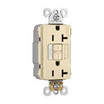 Pass & Seymour - PT2097NTLTRNAI - PlugTail® NAFTA-Compliant Spec-Grade Tamper-Resistant 20A Self-Test