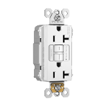 Pass & Seymour - PT2097NTLTRNAW - PlugTail® NAFTA-Compliant Spec-Grade Tamper-Resistant 20A Self-Test