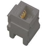 On-Q® - Cat 5e RJ45 Data / Phone Insert (5-Pack), Magnesium