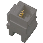 On-Q® - Cat 5e RJ45 Data / Phone Insert, Magnesium