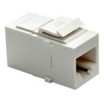 On-Q® - Cat 5e RJ45 Data Coupler Insert, White