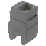 On-Q® - Cat 6 RJ45 Data Insert, Magnesium