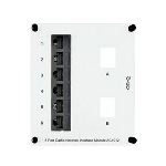 On-Q® - 6-Port Cat 5e Network Interface Module