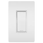 On-Q® - 15A Self-Grounding 4-Way Switch, White