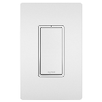 On-Q® - 15A 3-Way Lighted Switch, White