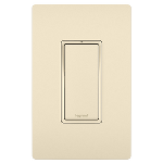 On-Q® - 15A 4-Way Lighted Switch, Light Almond