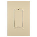 On-Q® - 15A Single Pole Lighted Switch, Ivory