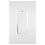 On-Q® - 15A Single Pole Lighted Switch, White