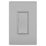 On-Q® - 15A Single Pole Switch, Gray