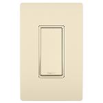 On-Q® - 15A Single Pole Switch, Light Almond