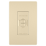 On-Q® - Spec-Grade Dead Front 20A Self-Test GFCI Receptacle, Ivory