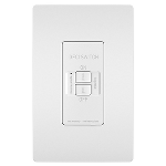 On-Q® - Spec-Grade Dead Front 20A Self-Test GFCI Receptacle, White