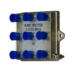 On-Q® - 8-Way Vertical Coax Splitter (2 GHz)