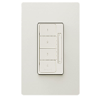 On-Q® - In-Wall RF Scene Controller, Light Almond