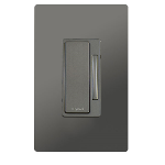 On-Q® - In-Wall 2-Wire Incandescent RF Dimmer, Nickel