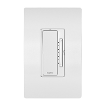 On-Q® - In-Wall 2-Wire Incandescent RF Dimmer, White