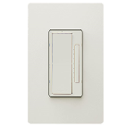 On-Q® - In-Wall Tru-Universal RF Dimmer, Light Almond