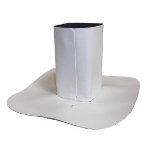 Johns Manville Roofing Systems - JM TPO Square Pipe Boot - TPO Roofing Systems