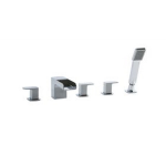 Artos - Westover - F802-4CH - 5-Hole Deck Mount Tub Filler - Chrome