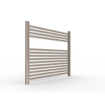"Artos - Westover - Denby Hardwired Electric Towel Warmer - Brushed Nickel - 27"" x 30"""