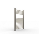 "Artos - Westover - Denby Hydronic Towel Warmer - Brushed Nickel - 27"" x 18"""