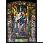 Stained Glass Inc. - Christ in the Temple Panel #2134 - Stained Glass Window Insert