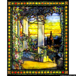 Stained Glass Inc. - Porch View Panel #2900 - Stained Glass Window Insert