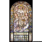 Stained Glass Inc. - Rejoice and be Glad Panel #2140 - Stained Glass Window Insert