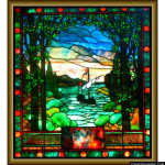 Stained Glass Inc. - Sailing Ship Panel #2872 - Stained Glass Window Insert